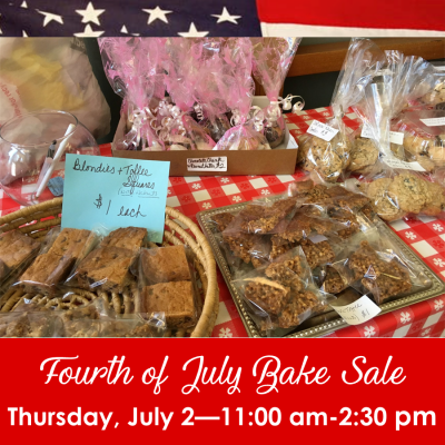Bake Sale 7.2.20