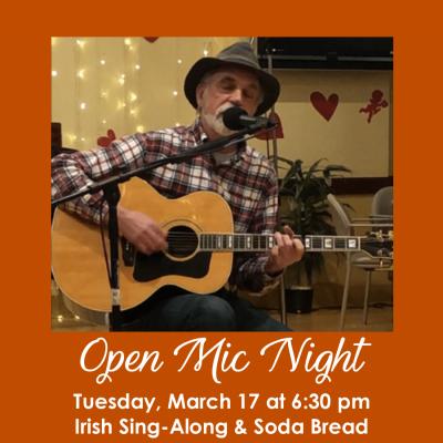 Open Mic Night 3.17.20