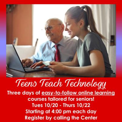 Teens Teach Tech 10.20-10.22.20