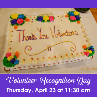 Volunteer Recognition - 4.23.20